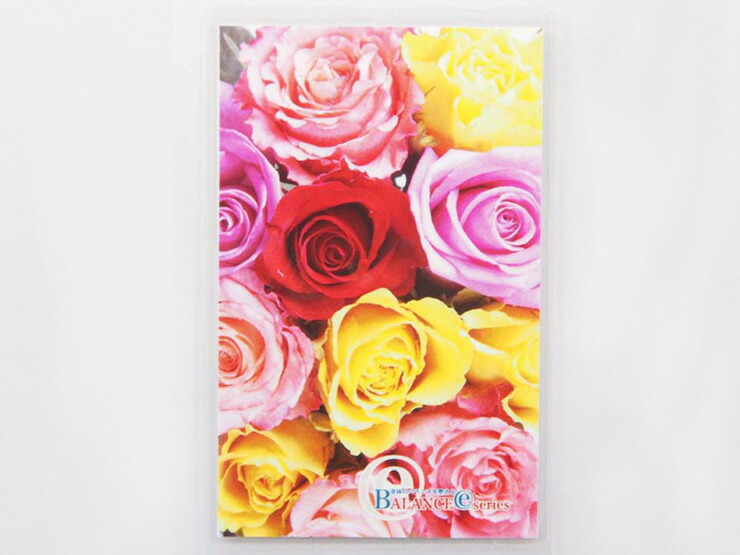 バランスEカード薔薇ピンク&イエロー