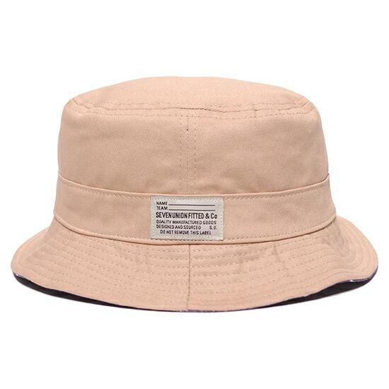 803f3cd8337 blackstore  Star Reversible Bucket Hat pail hat hat   navy X beige ...