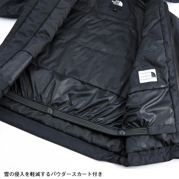ノースフェイスのキッズジャケット