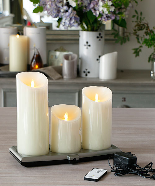 smart candle led. Black Bedroom Furniture Sets. Home Design Ideas