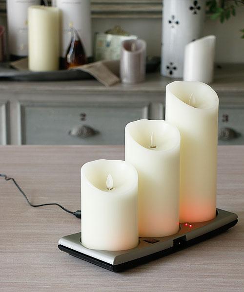 smart candle led blancdejuillet. Black Bedroom Furniture Sets. Home Design Ideas