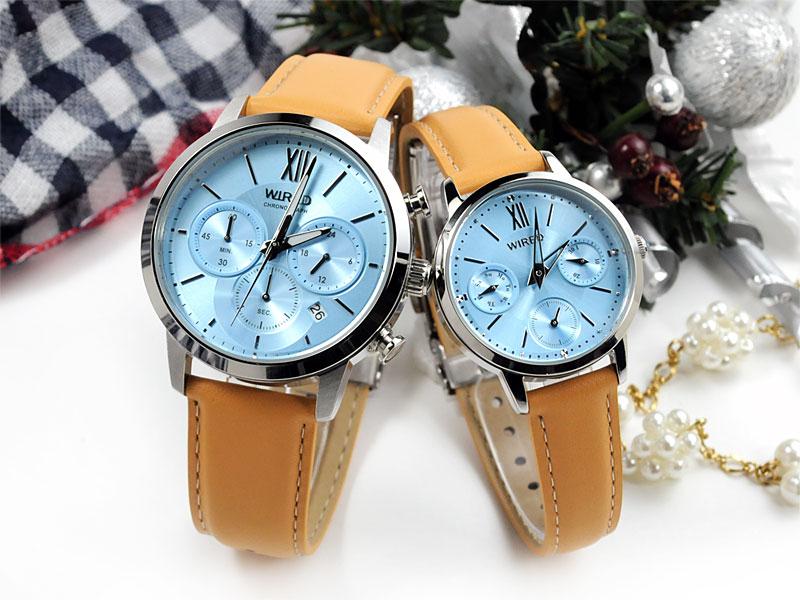 ペアウォッチ ワイアード 腕時計 ペアスタイル WIRED AGAT415-AGET404