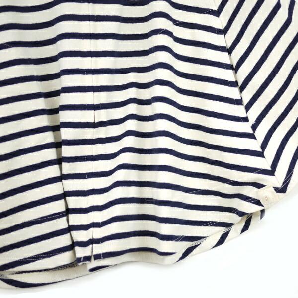 Detailed image of BCB comment * DINASTIE( ディナスティ) horizontal stripes zip improving cape .12070100723120