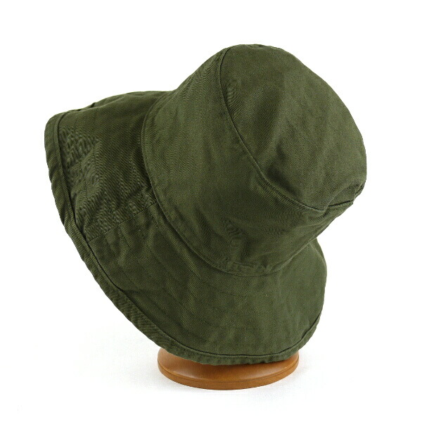 "Detailed image of HAT attack( hat attack) UV cut cotton hat ""Washed Cotton Crusher"", CYC809"