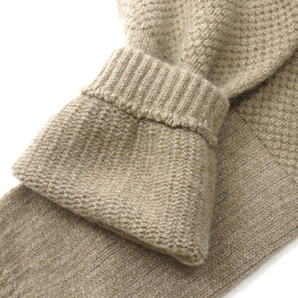 Detailed image of GLEN GORDON( Glenn Gordon) Angola blend wool hand warmer, NGG0854