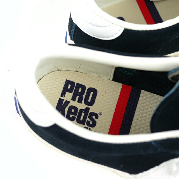 "Detailed image of PRO-Keds( Prokeds) suede sneakers ""ROYAL PLUS"" .2012"
