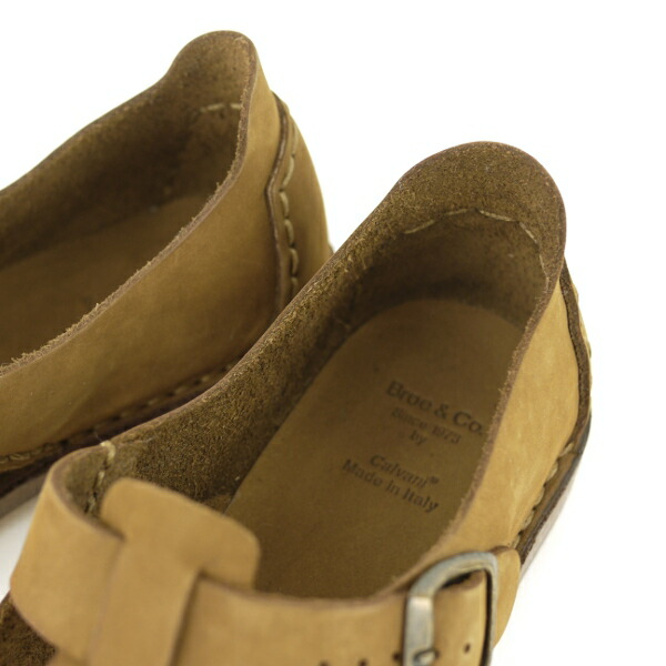 Broe&Co(ブロー&コー) HAND MADE DUCK FOOT T-STRAP SHOES?CNBC0951の詳細画像