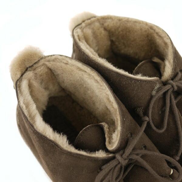 PUNTO PIGRO(プントピグロ) シープスキン チャッカー ボア ブーツ?NPP1281の詳細画像