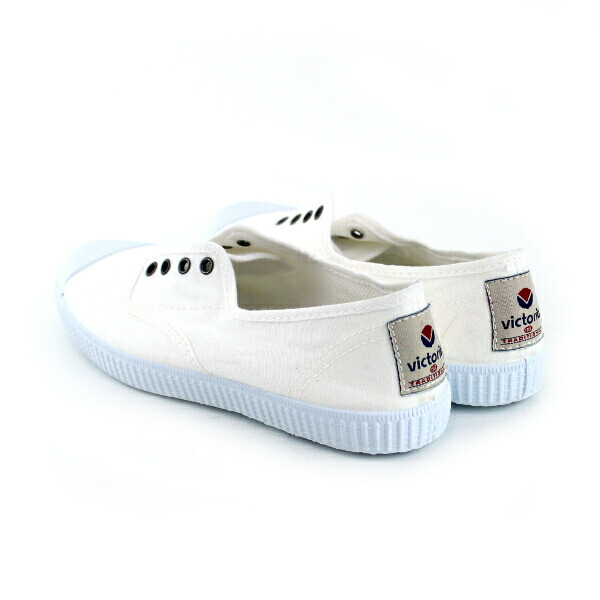 Detailed image of Victoria (Victoria) canvas slip-ons sneakers .6623