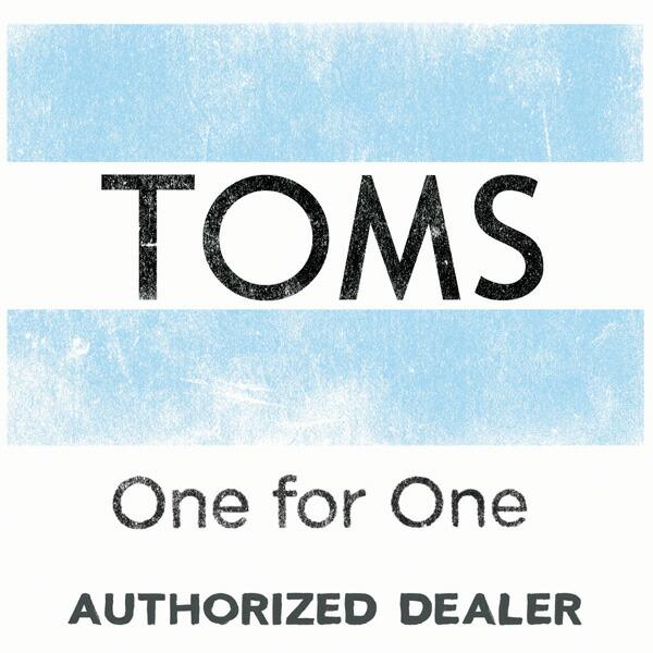 TOMS ECサイト用 正規販売店証明ロゴの詳細画像