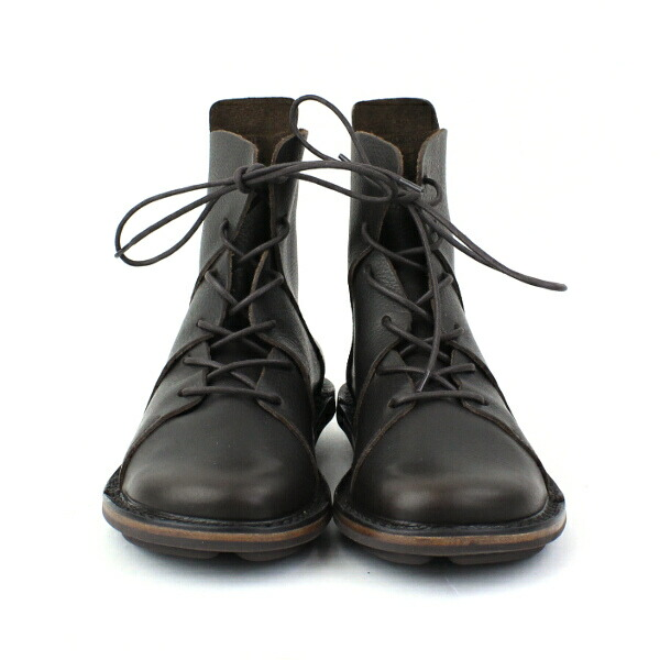 """Detailed image of TRIPPEN( トリッペン) leather race up bootie """"NOMAD"""", NOMAD-WAW"""