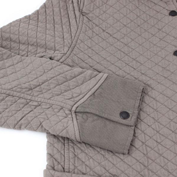 ARMEN(アーメン) コットン ポリエステル キルティング シャツカラー コート・NAM0362 の詳細画像