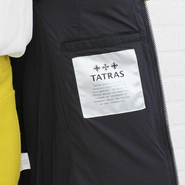 """TATRAS(タトラス) ウール カシミヤ ファー付き チェック柄 ダウンコート """"QUERCIABELLA""""・LTA14A4306 の詳細画像"""