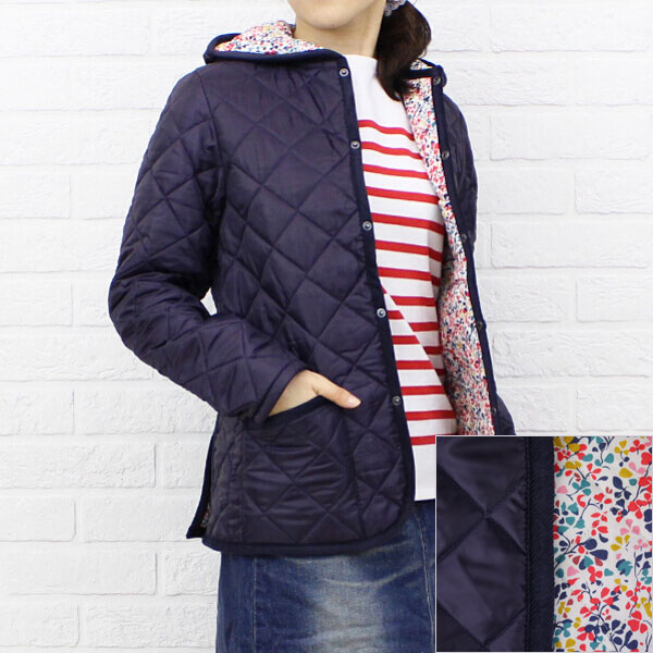 "Color image of LAVENHAM( ラベンハム) polyester food Liberty quilting jacket ""CRAYDON LIBERTY"", CRAYDON-LIB"