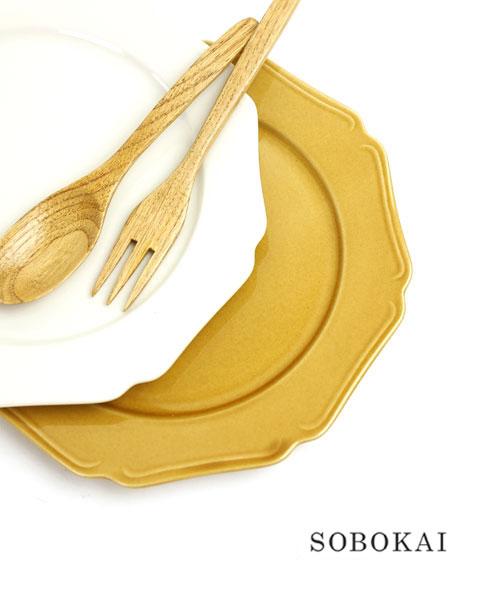 SOBOKAI(ソボカイ) 陶器 プレート マニカレット 8サイズ・MANICARETTE8  #SOBOKAI