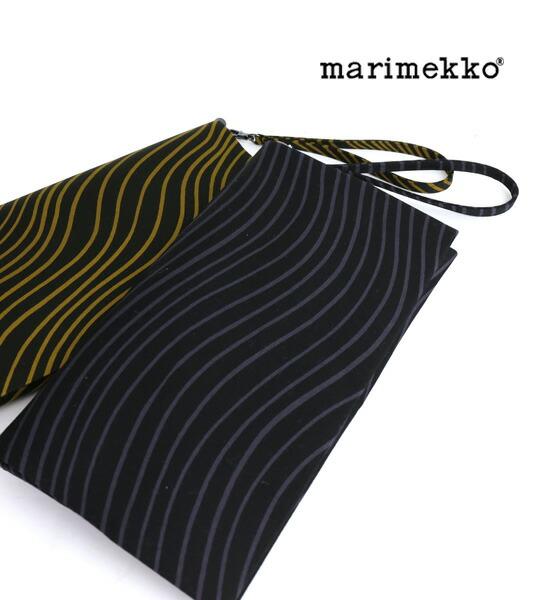 """marimekko(マリメッコ) コットン ストラップ付� クラッ��ッグ """"JUBILEE NAKKI�・5244241622  #marimekko"""