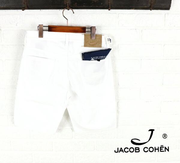 JACOB COHEN(ヤコブコーエン) コットン ポリウレタン ストレッチ ショートパンツ・226-72108  #JACOBCOHEN