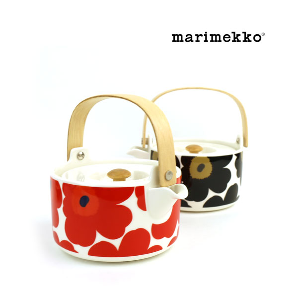 """marimekko(マリメッコ) UNIKKO ティーポット """"UNIKKO TEAPOT 7DL""""・5263163435  #marimekko"""