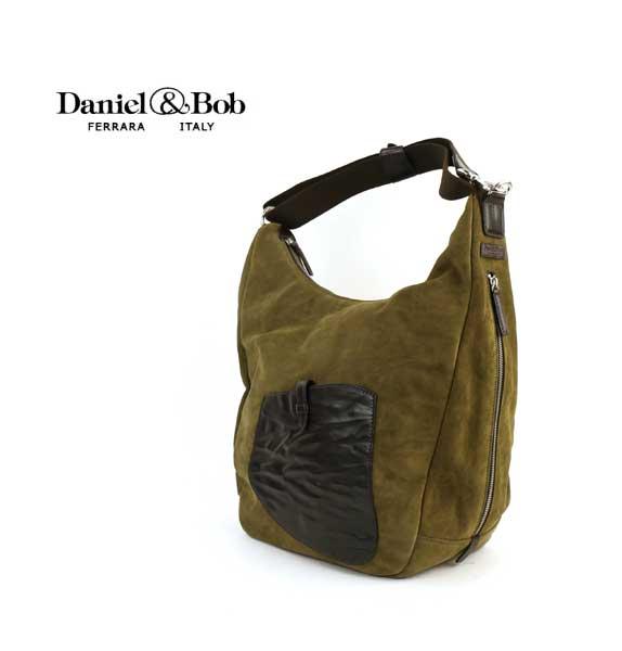 "Daniel&Bob(ダニエル&ボブ) スウェード ショルダーバッグ ""IDINA KALEIDO WASH""・DAB253L01  #Daniel&Bob"