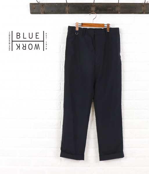 Blue Work(ブルーワーク) ポリエステルレーヨン  パンツ・54-04-62-04101  #BlueWork