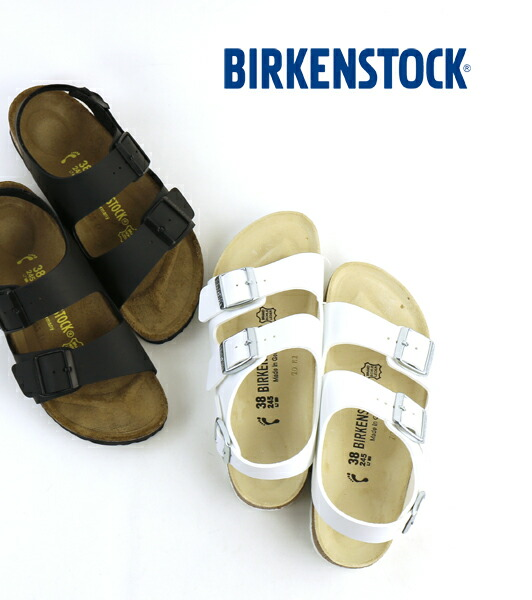 "BIRKENSTOCK(ビルケンシュトック) ビルコフロー ストラップサンダル ""MILANO""・MILANO-BF  #BIRKENSTOCK"