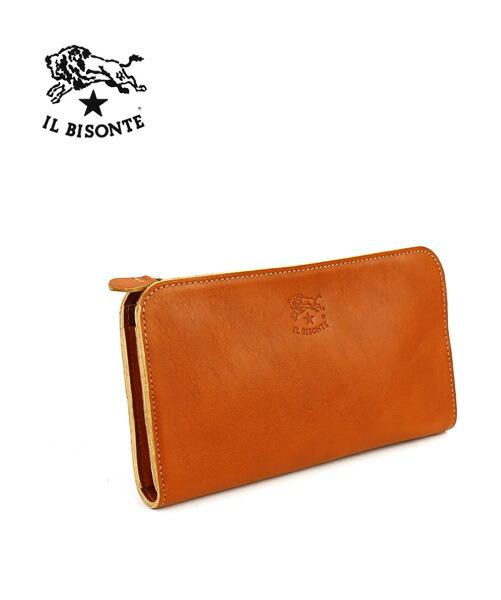 IL BISONTE(イルビゾンテ) レザー ラウンドファスナー 長財布・5442409140  #ILBISONTE