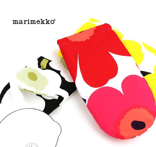 marimekko(マリメッコ) コットン 中綿  ウニッコ 鍋つかみ  オーブンミトン・5263164158  #marimekko