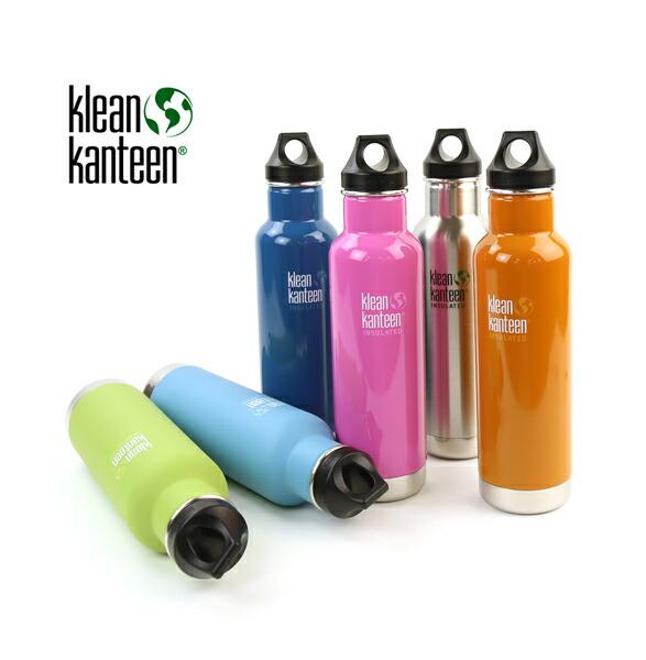 Klean Kanteen(クリーンカンティーン) ステンレス インスレートクラシック ボトル 水筒・K20VCPPL  #KleanKanteen
