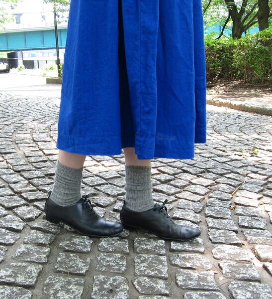 French Bull(フレンチブル) リネン混 ショートソックス 靴下 プレーリーソックス・118-105  #FrenchBull