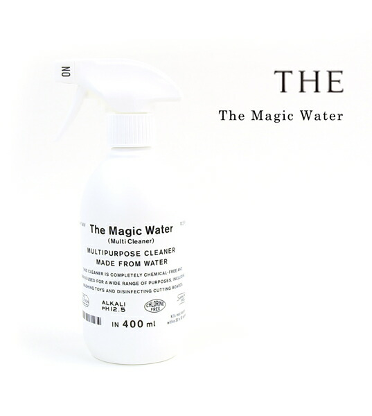 THE(ザ)  マルチクリーナー 汚れ落とし マジックウォーター The Magic Water 400ml・1306-0058  #THE