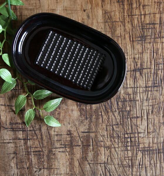 かもしか道具店(かもしかどうぐてん) 陶器  しょうがのおろし器・1412-0132  #かもしか道具店