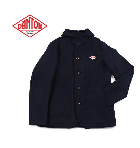 DANTON(ダントン) ウールモッサ ラウンドカラー メンズ シングル ジャケット・JD-8237WOM  #DANTON