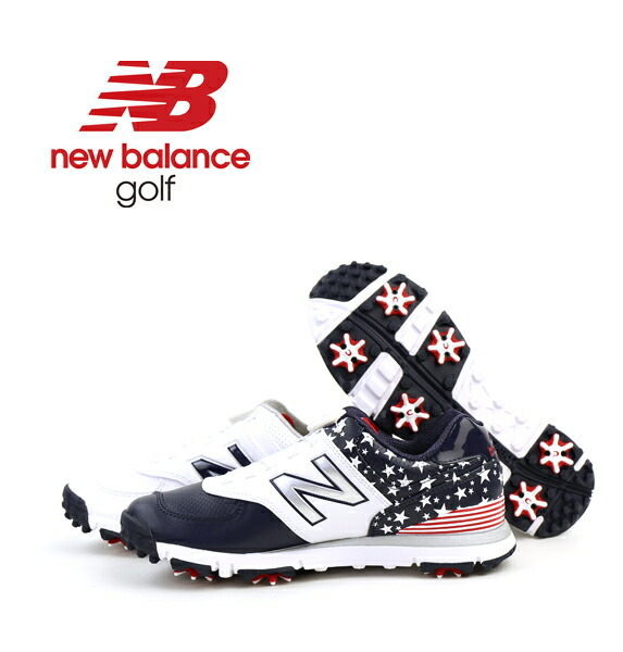 new balance(ニューバランス)  メンズ 防水 ダイヤル式 ゴルフシューズ スパイク MGB574・MGB574  #newbalance
