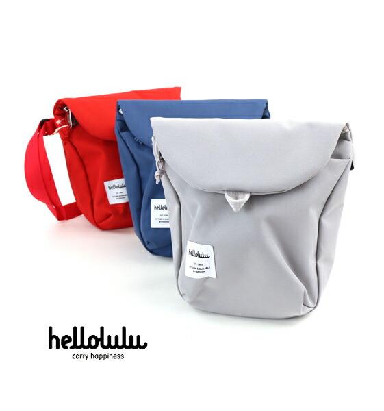 hellolulu(ハロルル) ポリエステル  ショルダーバッグ DESI デジ・5075091  #hellolulu