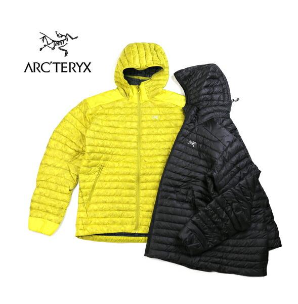 ARC'TERYX(アークテリクス) ナイロン 軽量 フーデッド メンズ ダウンジャケット ライトダウン CERIUM SL HOODY MEN'S セリウムSLフーディ・CERIUM-SL-H  #ARC'TERYX