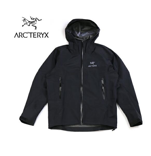 ARC'TERYX(アークテリクス) ゴアテックス 防水 軽量 フーデッド メンズ マウンテンジャケット BETA SL JACKET MEN'S ベータSLジャケット・BETA-SL-JK  #ARC'TERYX