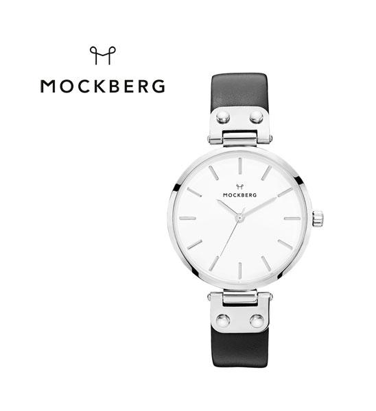 MOCKBERG(モックバーグ) レザーベルト ラウンド 腕時計 レディースウォッチ ASTRID 34mm・MO1002 #MOCKBERG