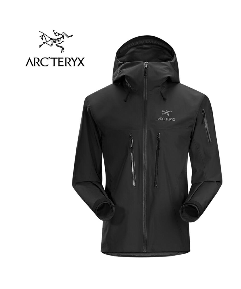 ARC'TERYX(アークテリクス) ゴアテックス 防水 軽量 フーデッド メンズ マウンテンジャケット ALPHA SV JACKET MENS アルファSVジャケット・ALPHA-SV  #ARC'TERYX