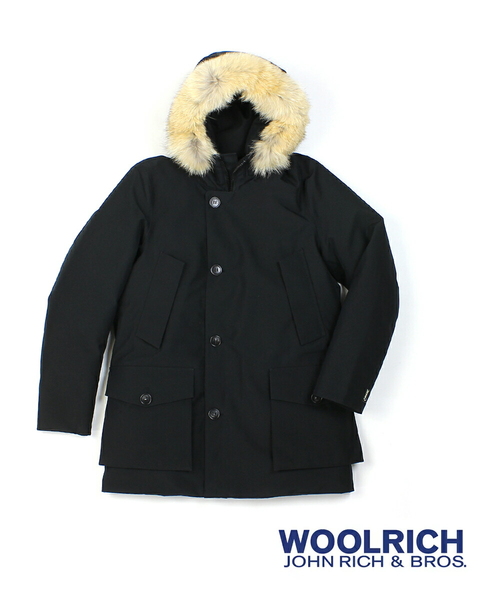 WOOLRICH(ウールリッチ) ゴアテックス 防水 ファーフード付き メンズ ダウンコート GTX ARCTIC PARKA HC アークティックパーカ・WOCPS2730  #WOOLRICH