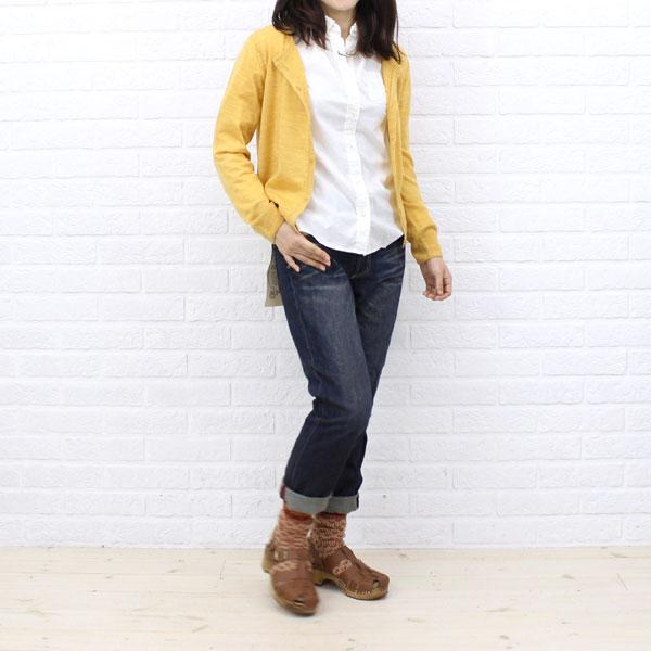 Betty Smith(ベティスミス) コットン 10ozデニム テーパード ボーイズ パンツ・BAB1084 の着用イメージ
