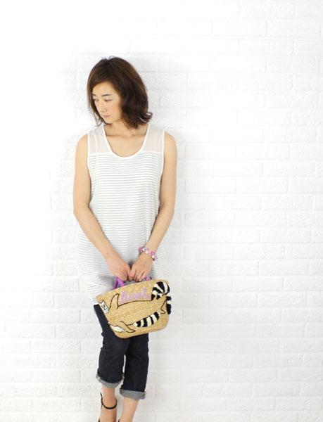 Yochi(ヨキ) 貝殻  ブレスレット・5343209736 の着用イメージ