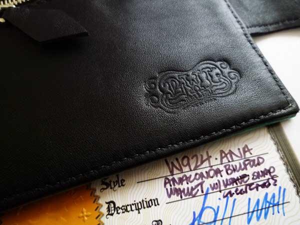 2c3568a550a6 BWL ビルフォールドウォレット Bill Fold 二つ折り財布(ビルウォール ...