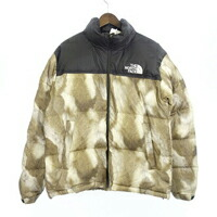 13AW THE NORTH FACE Fur Print Nuptse ヌプシ