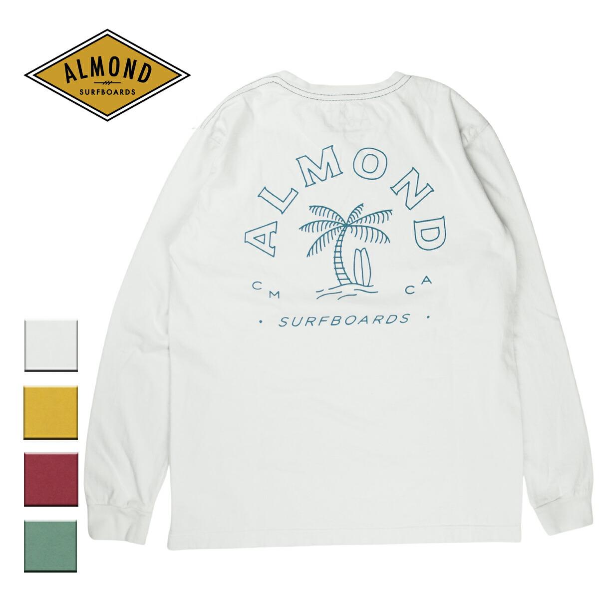 Almond Surf アーモンドサーフボードデザイン PARADISE L/S TEE