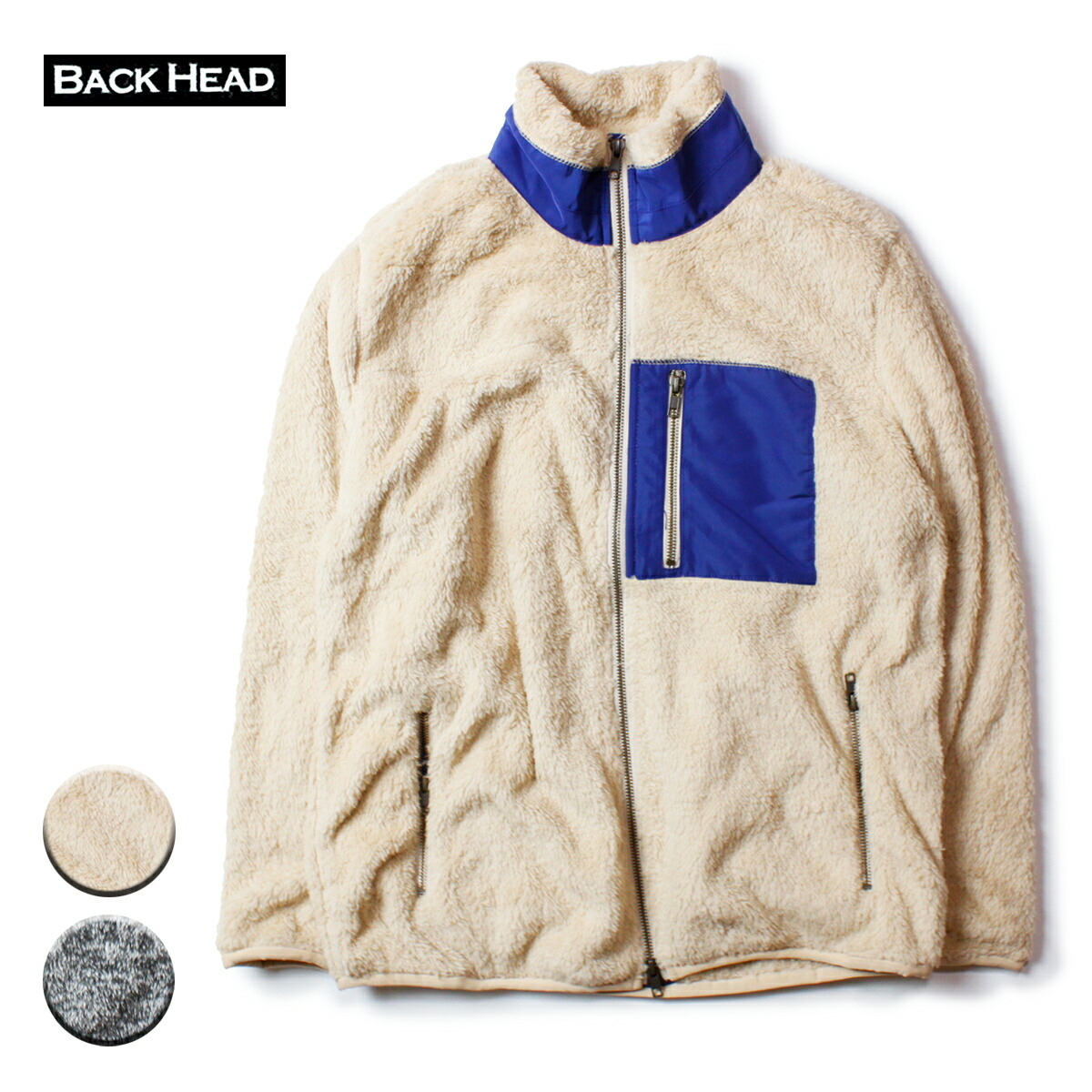 BACK HEAD バックヘッド MOCO MOCO KNIT JACKET