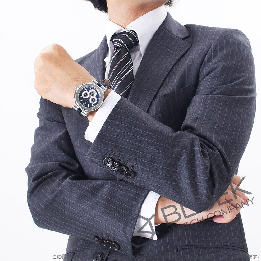 f58dc19abe74 【楽天市場】ブルガリ ディアゴノ カリブロ303 世界限定500本 クロノグラフ アリゲーターレザー 腕時計 メンズ BVLGARI  DG42C3SLDCH_8:ブルークウォッチカンパニー