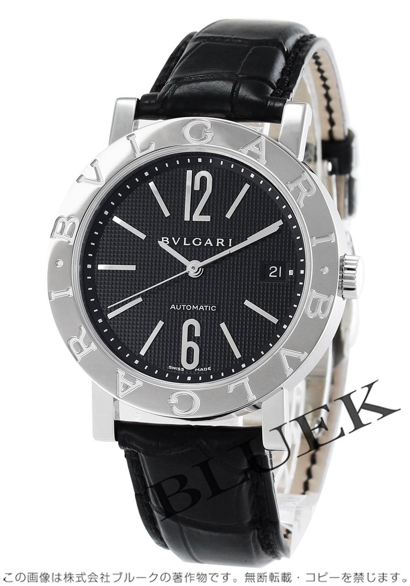 watch a535a f6240 ブルガリ ブルガリブルガリ アリゲーターレザー 腕時計 メンズ BVLGARI BB38BSLD_8|ブルークウォッチカンパニー