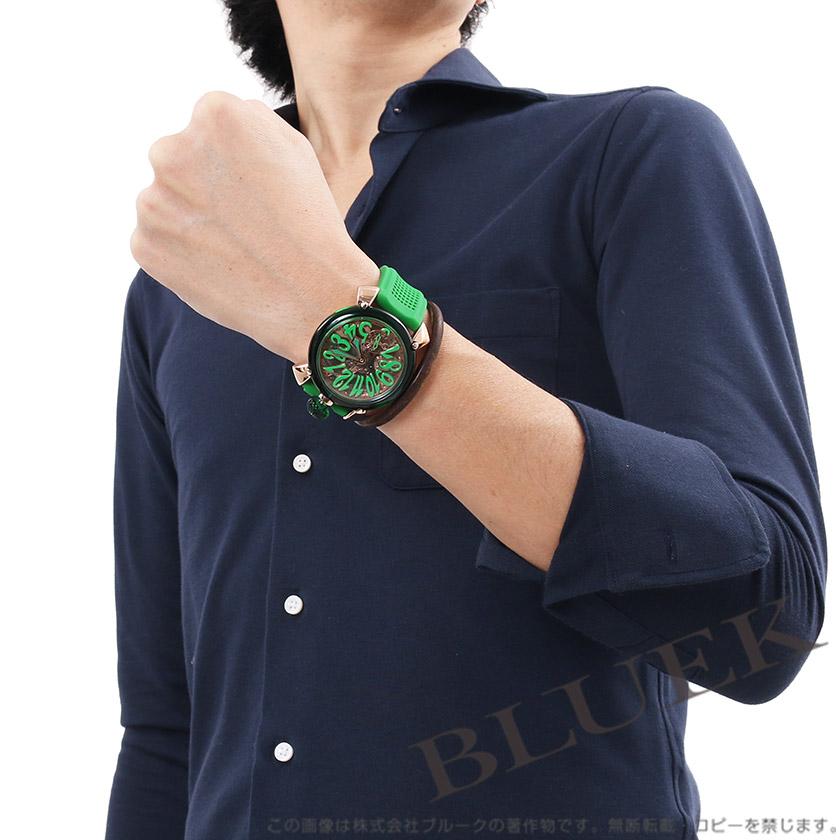 hot sale online 9e707 7b3d4 ガガミラノ マヌアーレ48MM クリスタル 腕時計 メンズ GaGa ...
