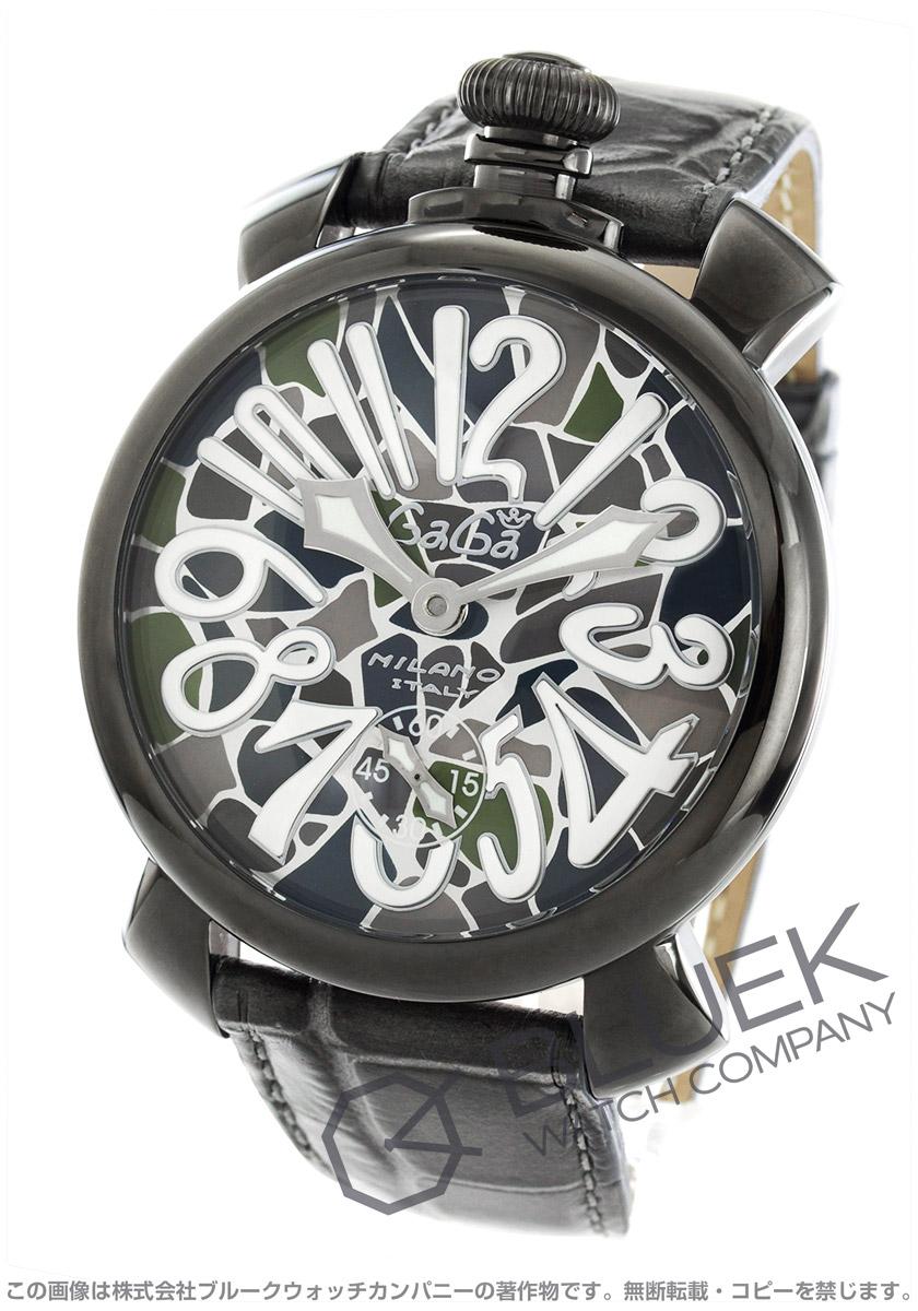 buy popular 46e23 5aa68 ガガミラノ マヌアーレ48MM モザイク 腕時計 メンズ GaGa MILANO ...