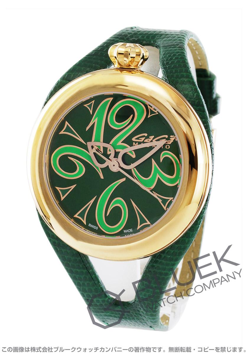 on sale d0904 abb36 ガガミラノ フラット42MM 腕時計 ユニセックス GaGa MILANO ...